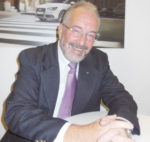 EngºLottarWerninghaus, consultor técnico da Audi do Brasil