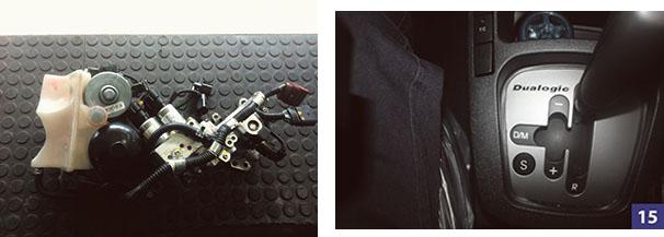 Robô do cambio mecatrônica-i-motion Polo e Fox