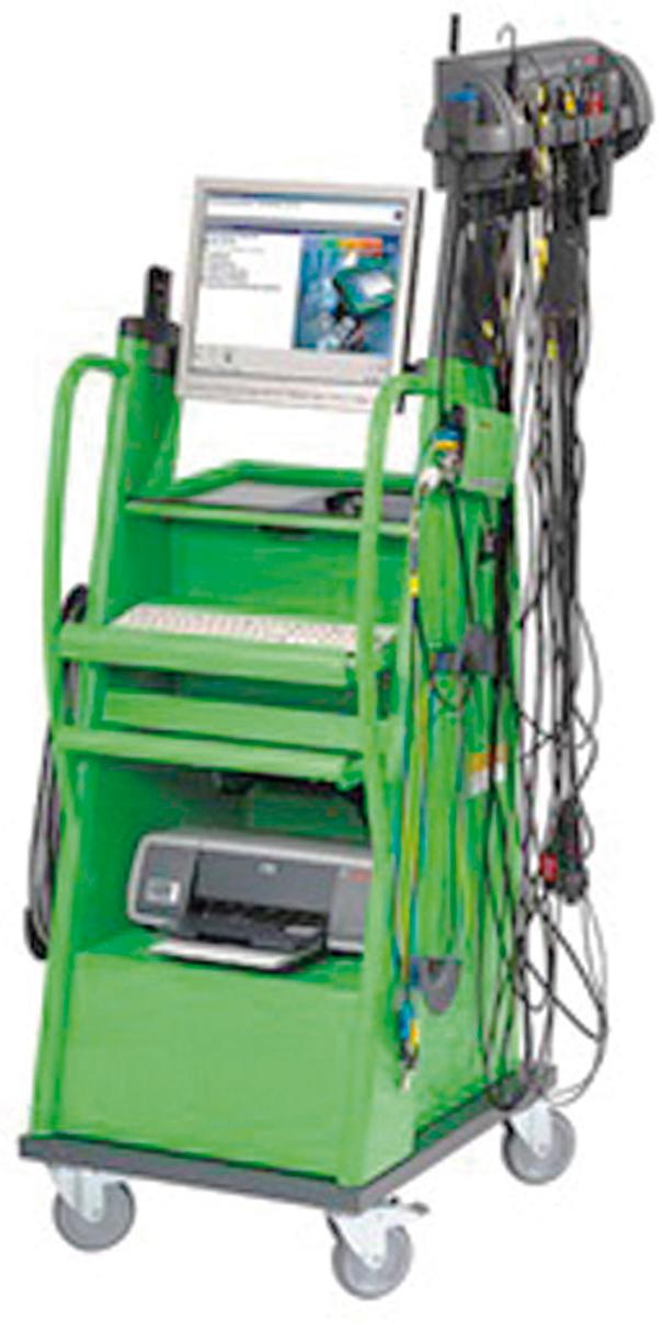 Osciloscópio analisador de motor