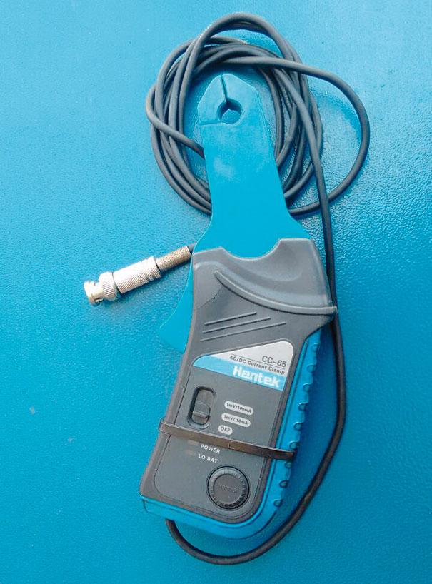 Transdutor de corrente elétrica- pinça amperimétrica