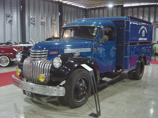 Caminhão Chevrolet Tigre pegou muito tempo na labuta