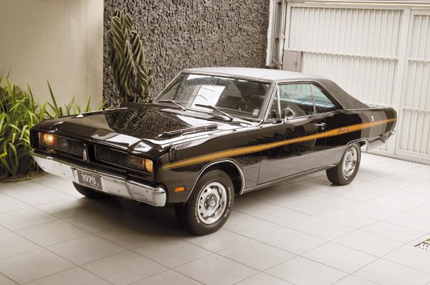 Tomando como base o Dart cupê, os estilistas da Chrysler do Brasil criaram um modelo de linhas agressivas e cheias de personalidade