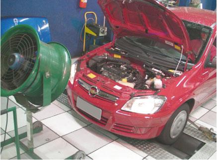 O Celta cumpre o que promete! São 76,6 cv a 6.168 rpm e 9,2 kgf.m a 5328 rpm com gasolina no tanque