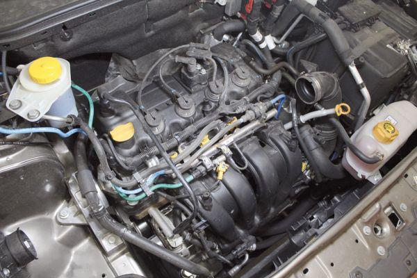 O motor E-torQ 1.8 16V, com 1.747 cc desenvolve 132 cv de potência máxima com etanol, ou 130 cv com gasolina. O torque máximo é de 18,9 kgfm (etanol), ou 18,4 kgfm (gasolina) obtidos a 4.500 rpm