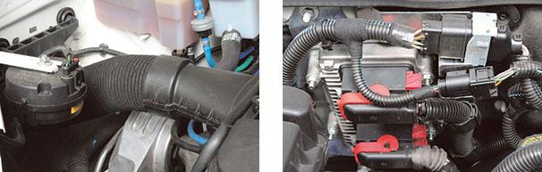 Coxim do motor Linea visto de frente, comentado pelo reparador que poderá ter defeito recorrente de ruído / ECU do sistema de injeção, localizado no vão do motor Linea 1.8 16VE. TorQ  que a partir de 01/2012  - saiu com sistema  Magneti Marelli IAW 7G