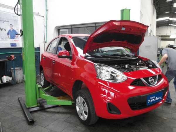 Novo Nissan March 1.0 12V produzido no Brasil