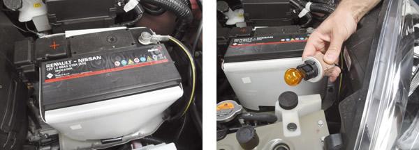 Bateria de 60Ah para atender toda a demanda elétrica / Troca de lâmpadas em todo o carro é simples e rápida