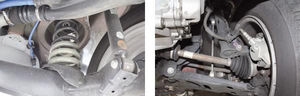 Nova suspensão traseira independente com mola no lugar do feixe recebe elogios / Manutenção da suspensão e freio dianteiro não apresenta falhas