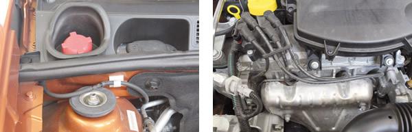 Partida a frio ainda usa o sistema de tanquinho de gasolina / Bobina de ignição posicionada sobre a tampa de válvulas seria a melhor opção?