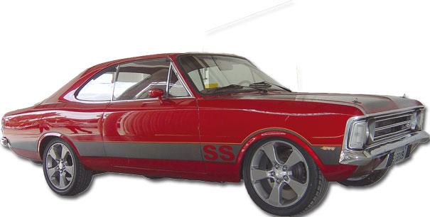 O visual agressivo foi reforçado pela pintura vermelha e as rodas aro 18 da Chevrolet Captiva
