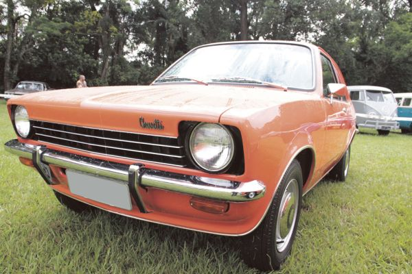 Chevrolet Chevette ano 1973, ano de lançamento do modelo pela General Motors no Brasil