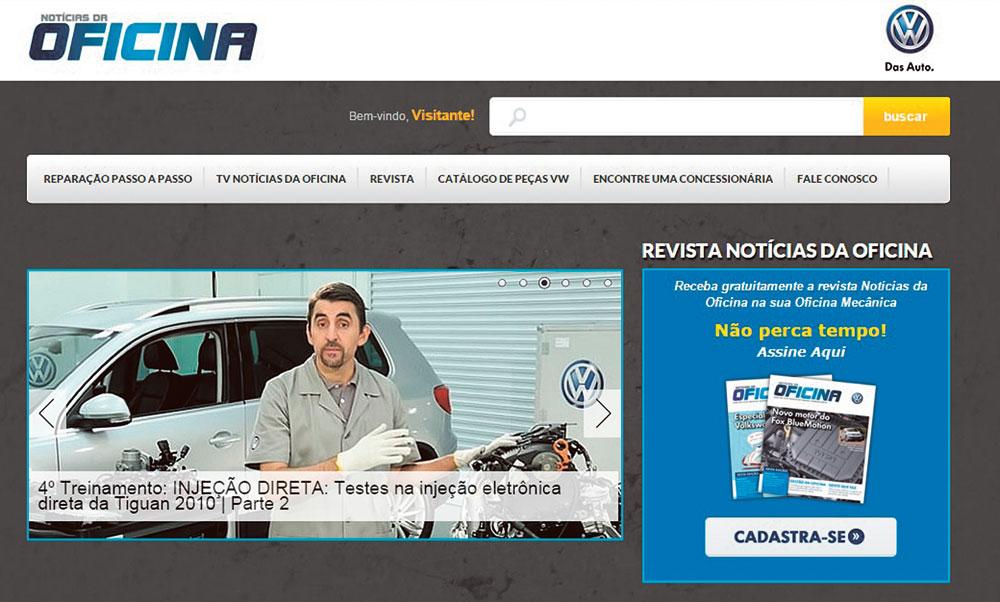 Portal Notícias da Oficina VW