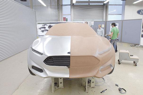 Os designers apresentaram as principais tendências no desenvolvimento de veículos da Ford