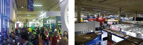Jornal Oficina Brasil teve 12 banners (de teto) exclusivos na Autopar 2014 / Visão geral dos expositores da 7ª Autopar 2014