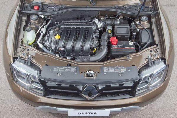 Motor 2.0 16V flex de 148/143 cv e 18,8 kgfm de torque