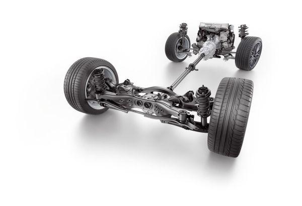 A vetorização de torque, em curvas, freia a roda de dentro para evitar a saída de frente e distribui a força de acordo com o ângulo de esterço do volante, giro vertical e força de aceleração lateral