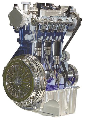 A injeção direta de combustível é feita com atomização em alta pressão por eletroinjetores de seis furos, que conseguem fazer até quatro pulsações em cada ciclo de combustão. Ela funciona com pressão de 150 bar