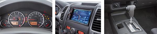 Painel é de fácil leitura, mas antiquado / Central multimídia tem GPS e conexão bluetooth / Transmissão de cinco marchas só está disponível nas versões SL e SV com tração 4x4