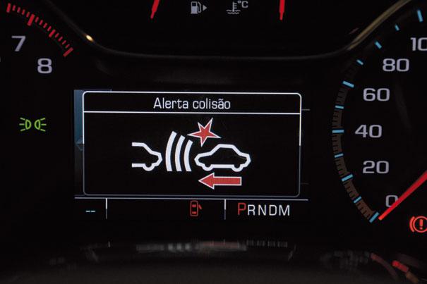 Alerta de colisão