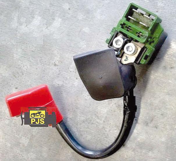Relé de partida Honda Titan 150 ebd88828d1d26