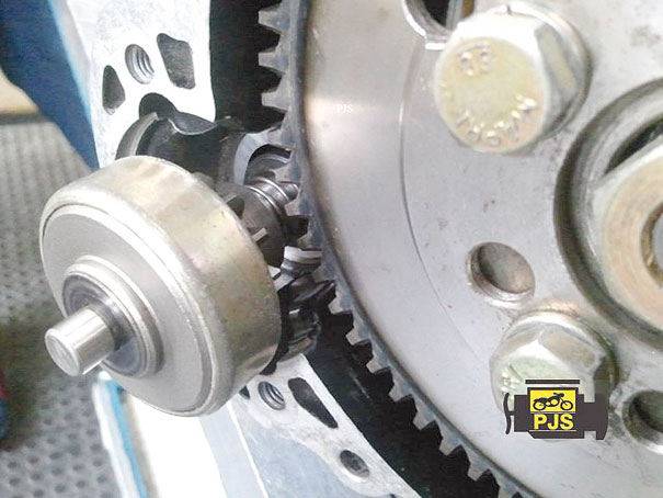 Sistema Bendix na partida da Motocicleta Agrale