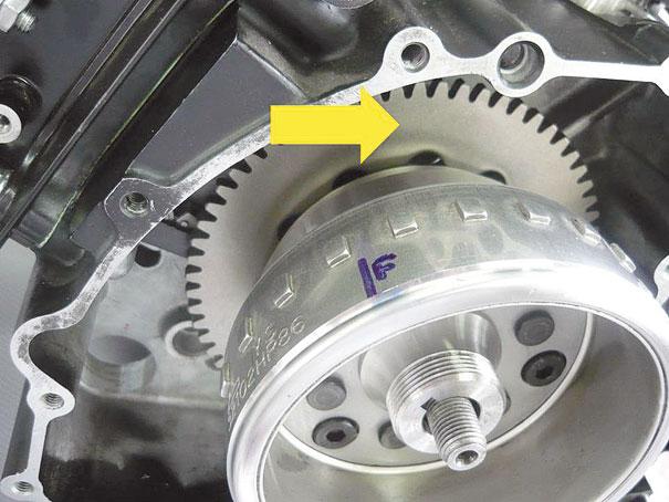 Placa de partida e volante magnético – motocicleta Kasinski ... a8b8315d73ce8