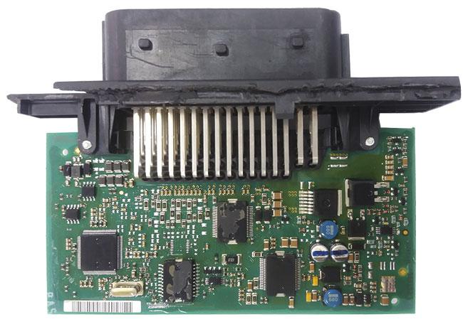 Vista interna do Módulo do sistema SCR da Mercedes Benz ®