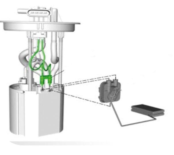 Foto 11 - Bomba de combustível, filtro e Reservatório estabilizador