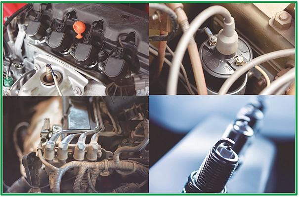 Como a análise do sistema de ignição contribui para identificar falhas mecânicas no motor?