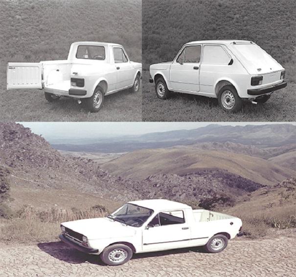 A Pick-up Fiat City chegou com a proposta de ser um utilitário mais jovial, plataforma longa da Panorama serviu à criação da nova picape