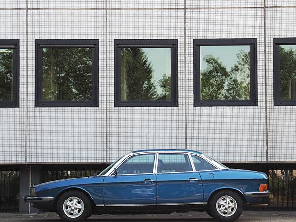 Porta-malas elevado, amplos vidros, colunas estreitas: os padrões de estilo adotados no Ro 80 só apareciam nos demais carros na década de 80