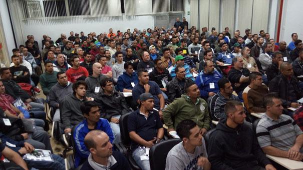 Palestras tiveram mais de 100 participantes em cada edição