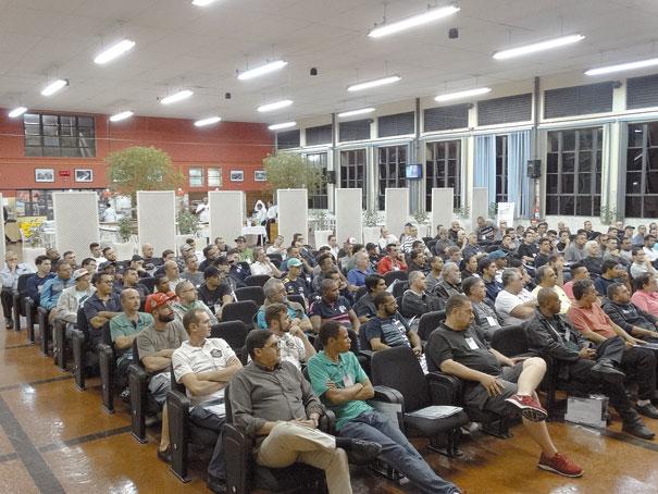 Palestra realizada no SENAI Ipiranga, em São Paulo