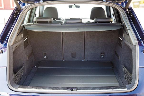 porta-malas com 550 litros
