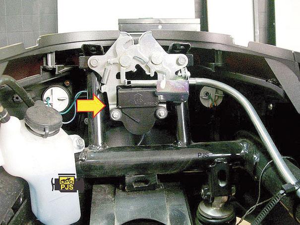 Fig.3 - Localização do sensor