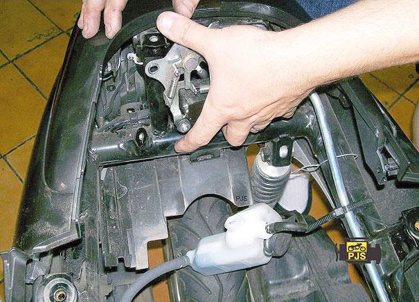 Fig.4 - Remoção do sensor