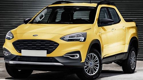 Picape do Ford Focus virá ao Brasil em 2021