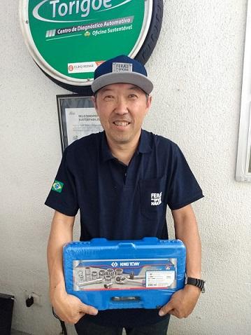 Vencedor da promoção Nakata