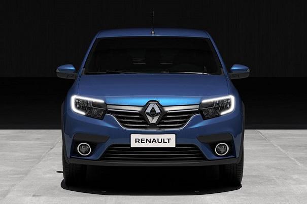 A Renault divulgou imagens de seus veículos