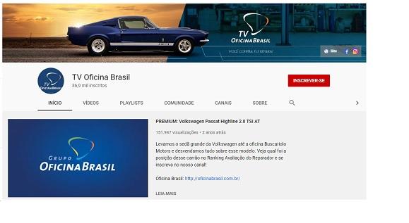 Confira a Avaliação do Reparador da TV Oficina Brasil