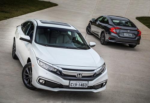 Honda anuncia a chegada do Civic 2020 com nova