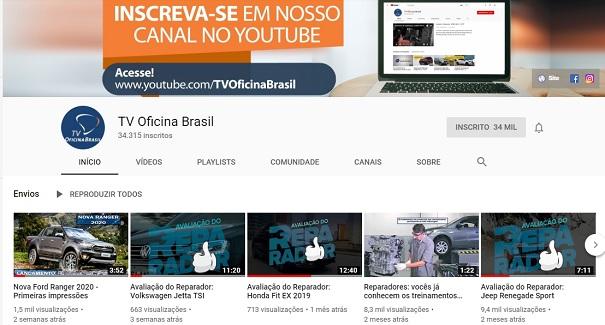 TV Oficina Brasil, dando voz à oficina!