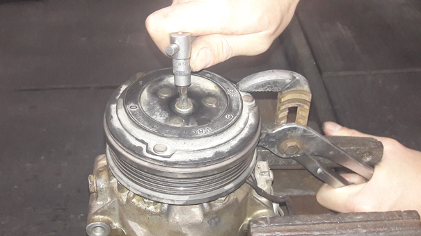 Compressor de ar-condicionado automotivo