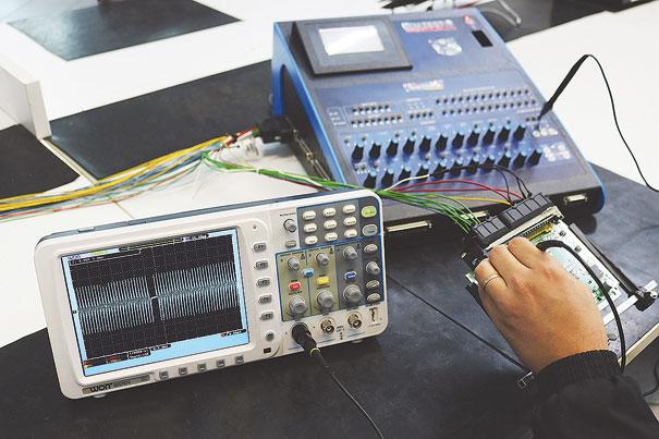 Foto 5 - Testes de entrada do sinal de rotação