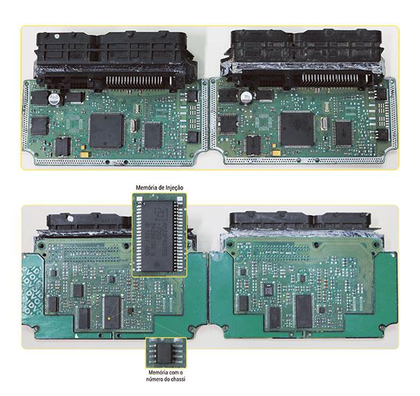 Módulos com mesmo Hardware mas com Software diferente, armazenado em memória dos modelos PSOP 44 e Soic 8