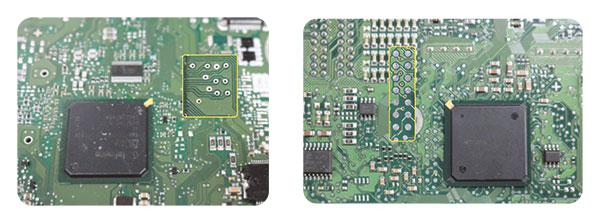 Portas de comunicação com o processador