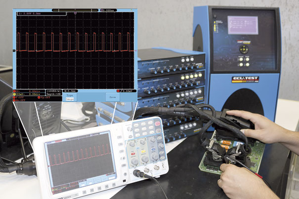 Teste do componente responsável pelo controle da MProp (sinal PWM)