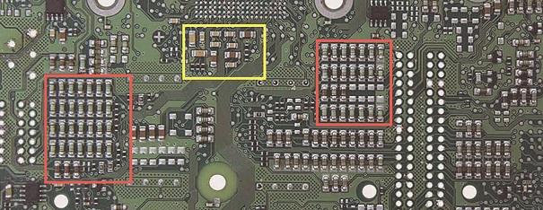 Sinais analógicos dos sensores, processamento dos sinais pelo módulo e análise de falhas