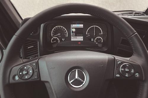 eActros  é o caminhão da Mercedes-Benz totalmente elétrico utilizado na distribuição urbana